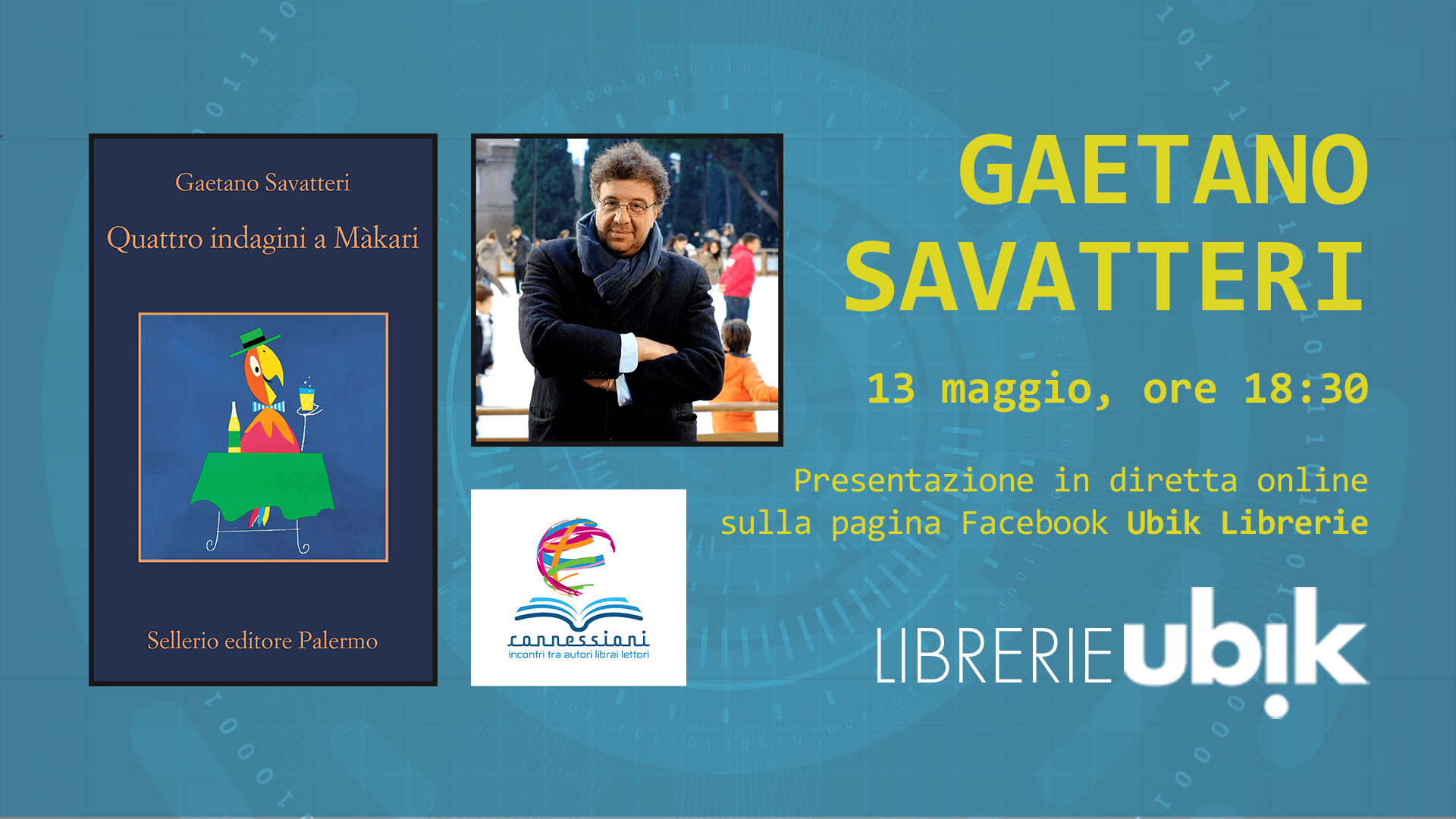 GAETANO SAVATTERI presenta in diretta online