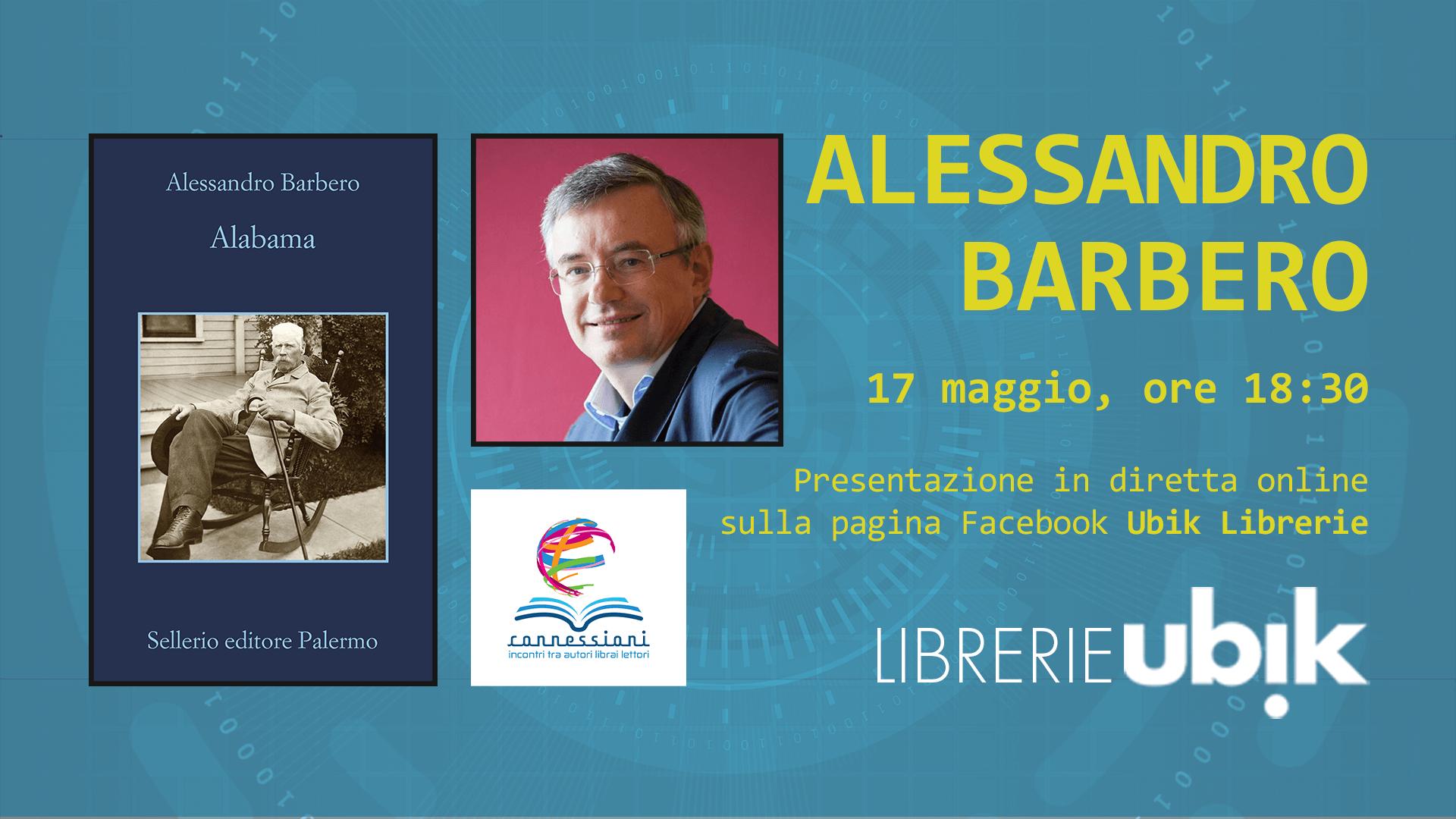 ALESSANDRO BARBERO presenta in diretta online