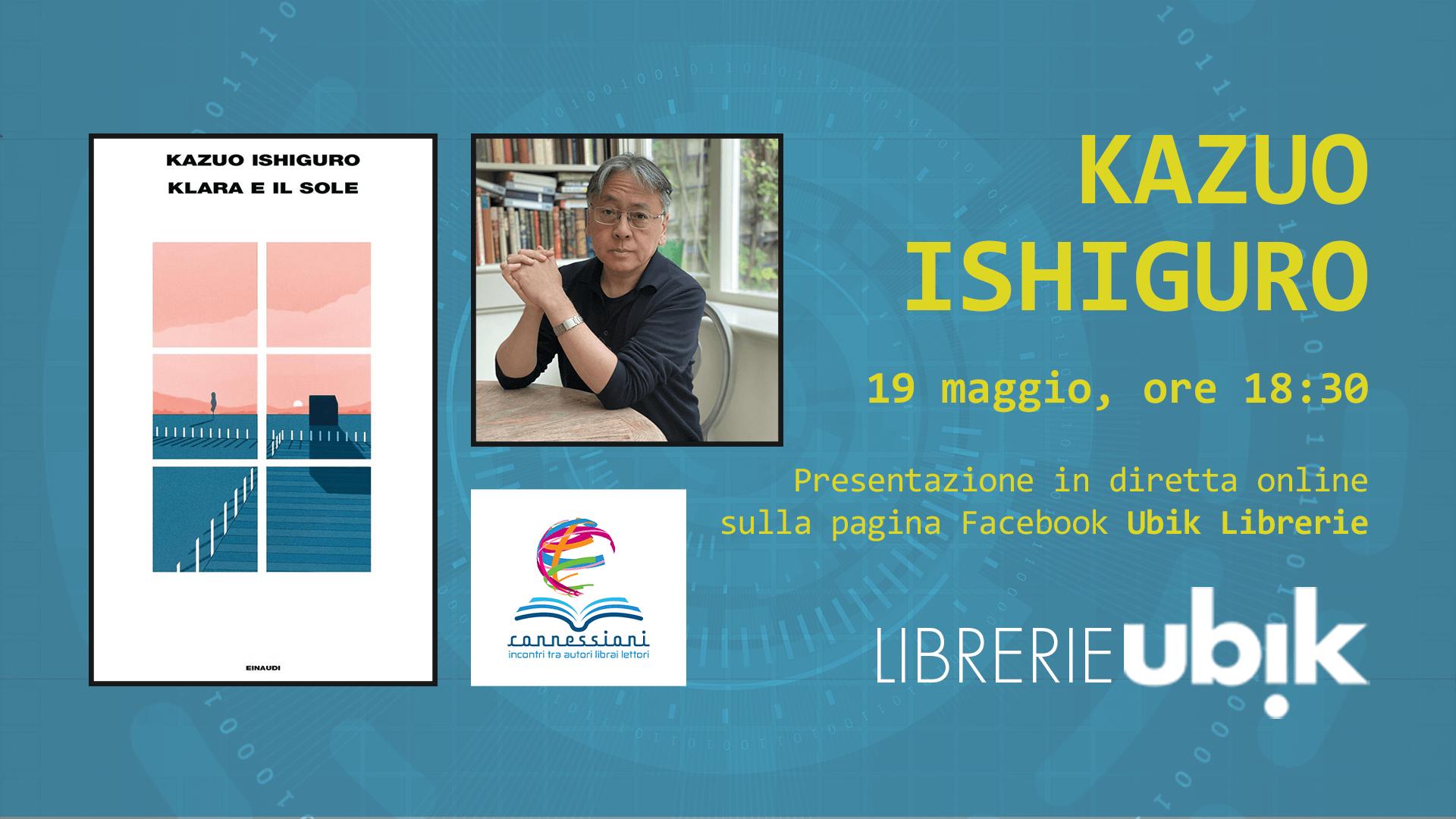 KAZUO ISHIGURO presenta in diretta online