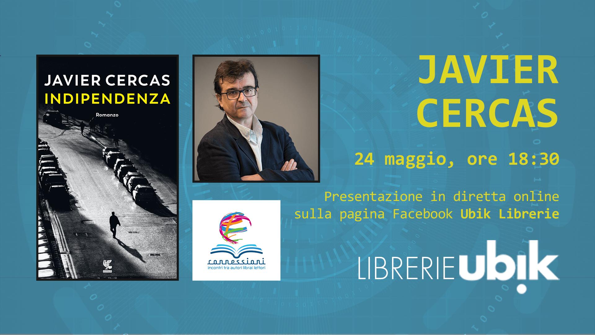 JAVIER CERCAS presenta in diretta online