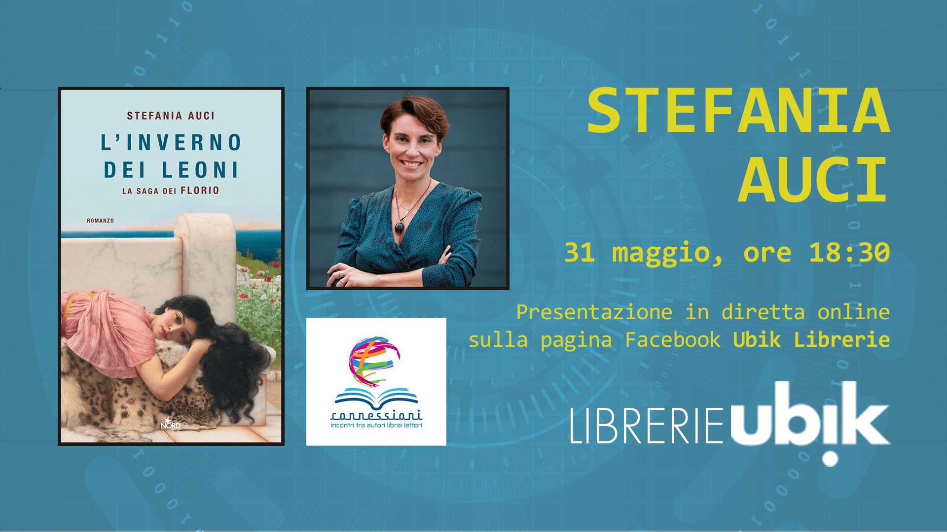 STEFANIA AUCI presenta in diretta online