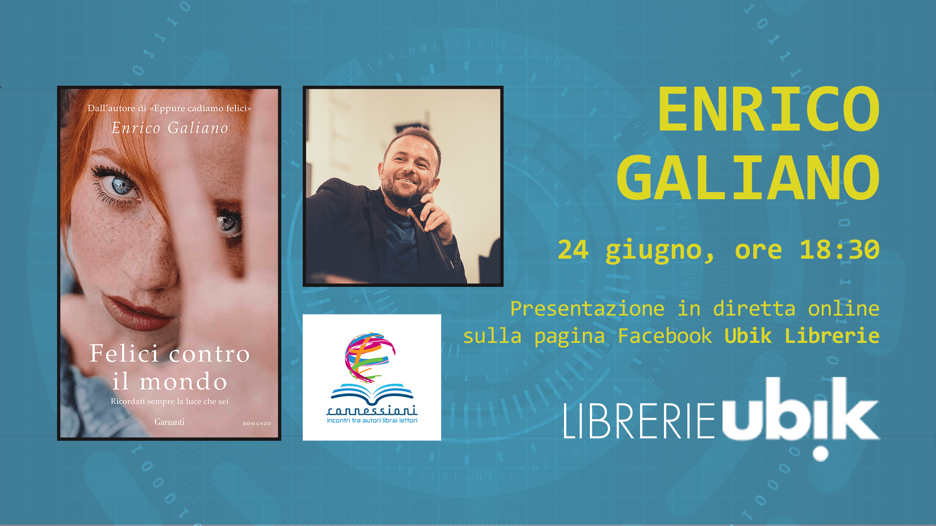 ENRICO GALIANO presenta