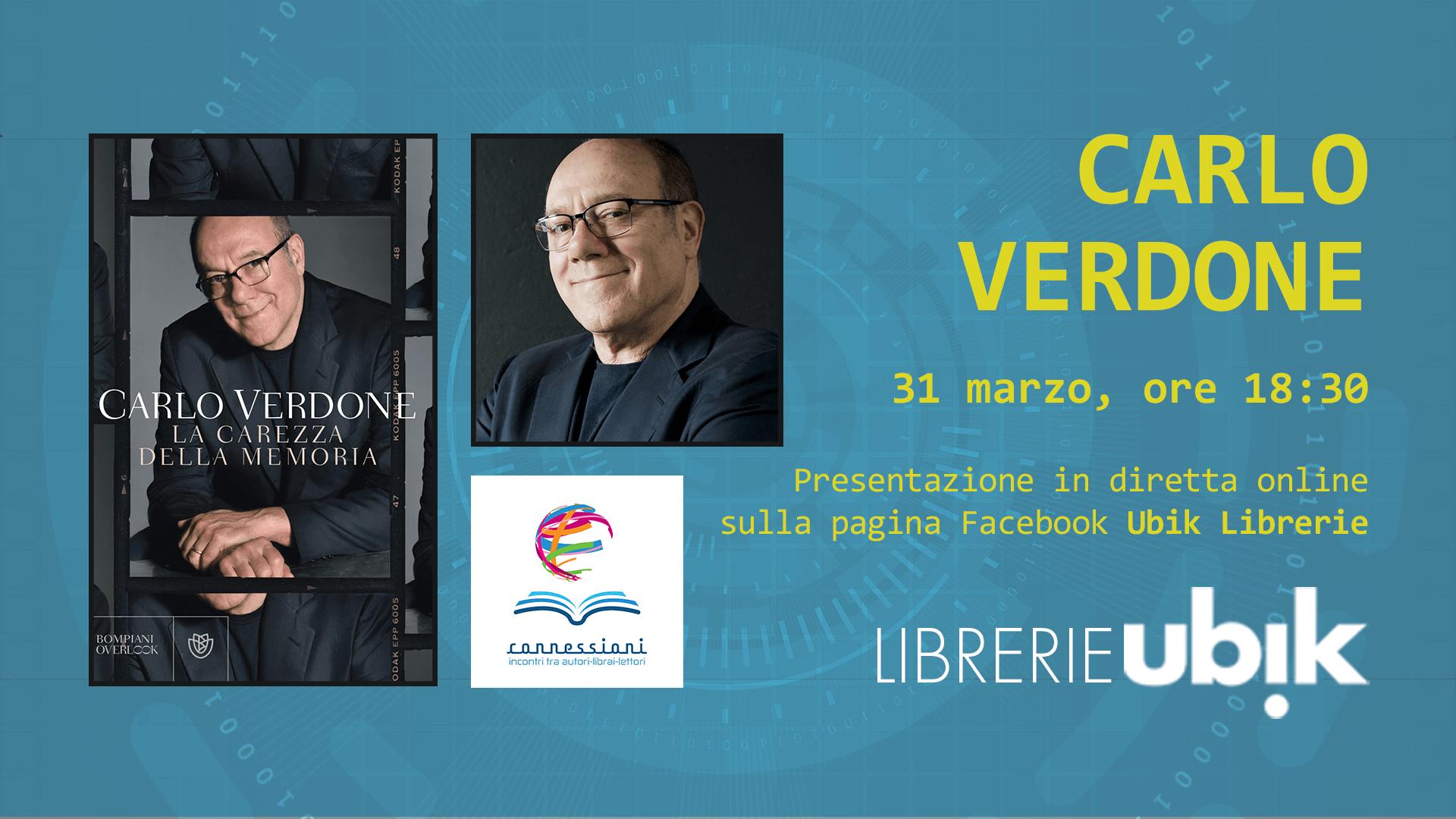 CARLO VERDONE presenta in diretta online