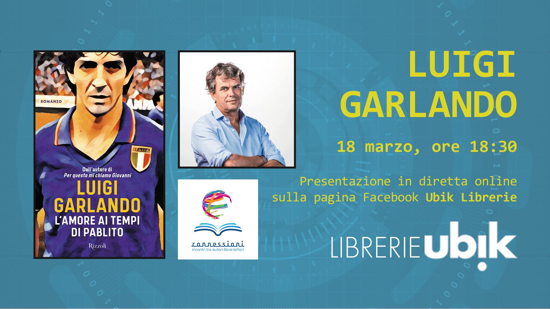LUIGI GARLANDO presenta in diretta online