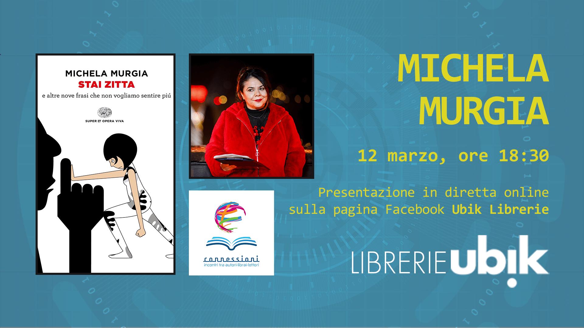 MICHELA MURGIA presenta in diretta online