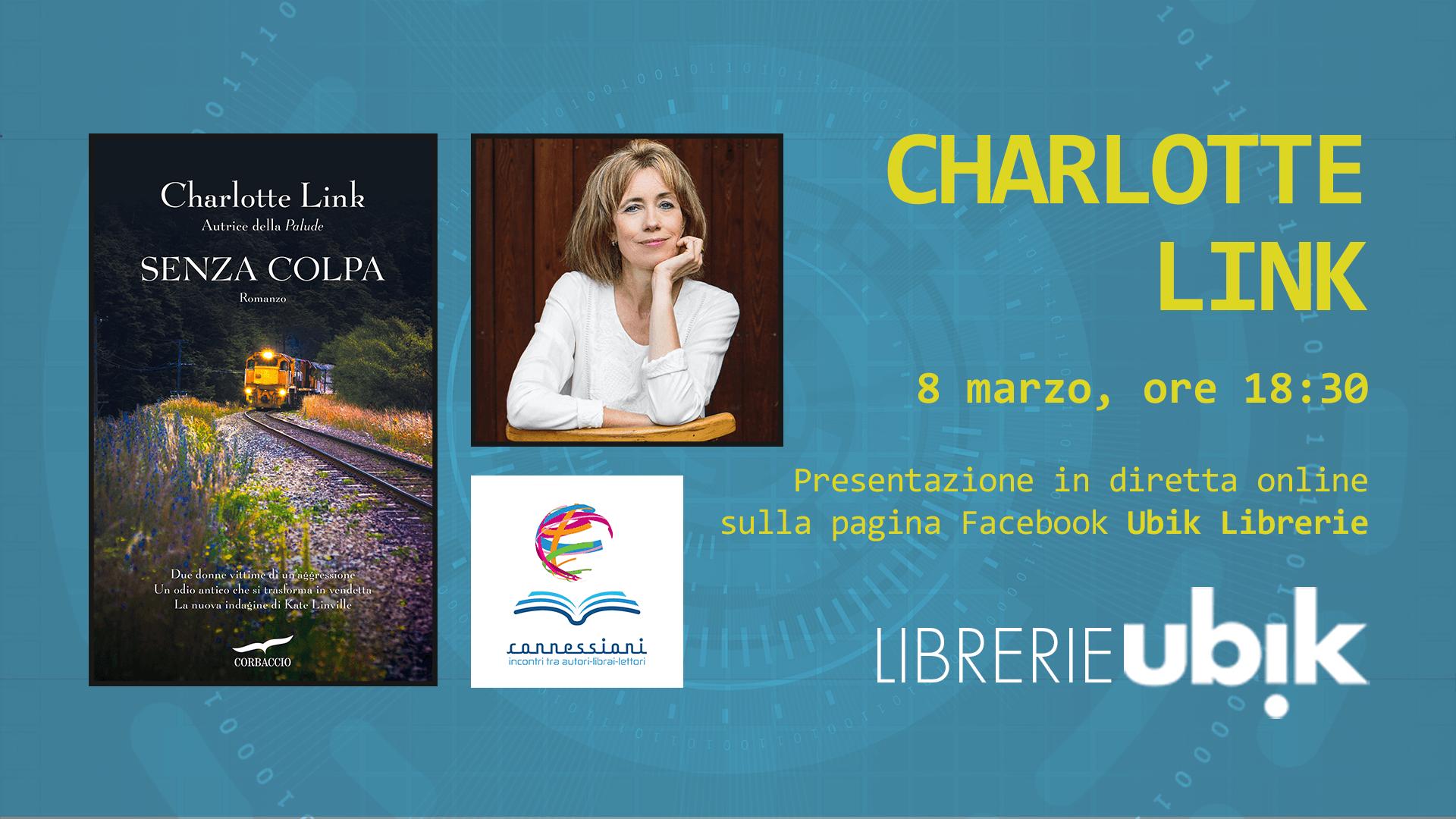 CHARLOTTE LINK presenta in diretta online