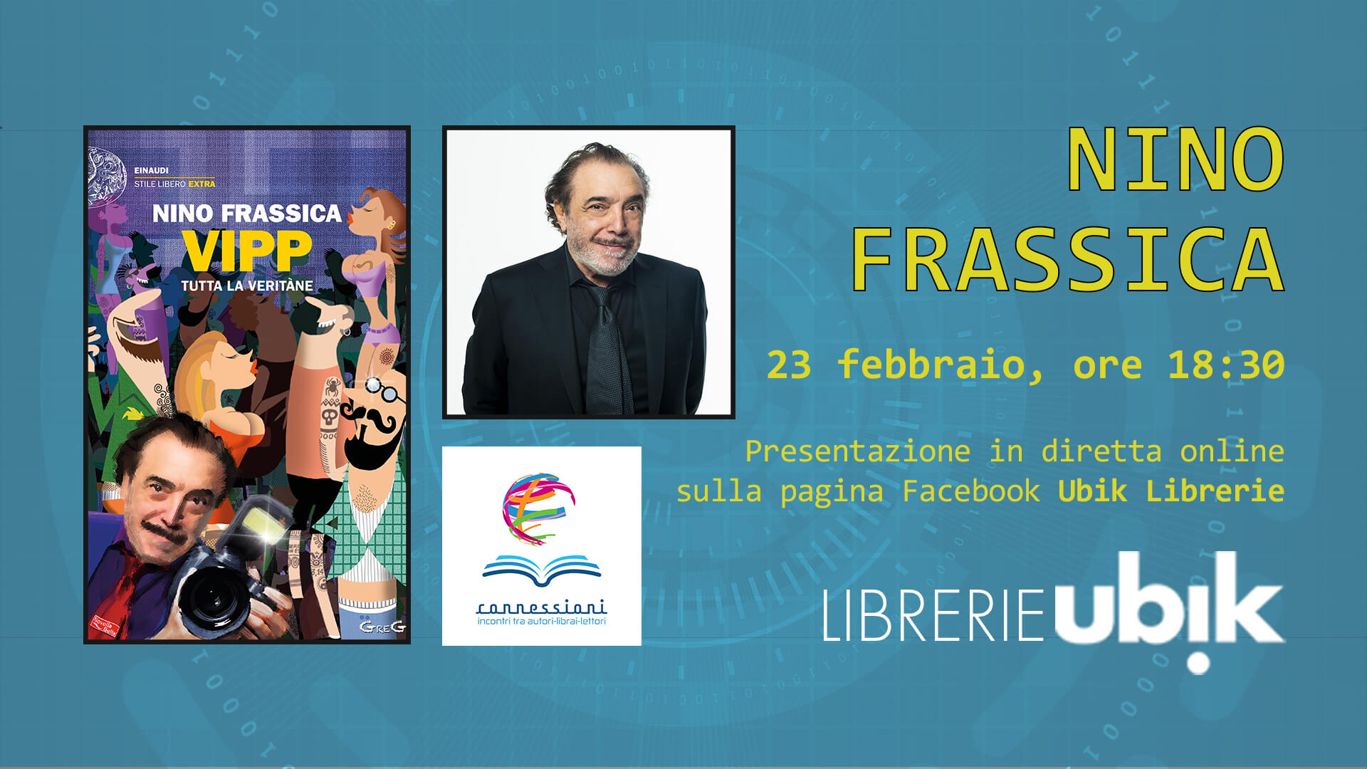 NINO FRASSICA presenta in diretta online