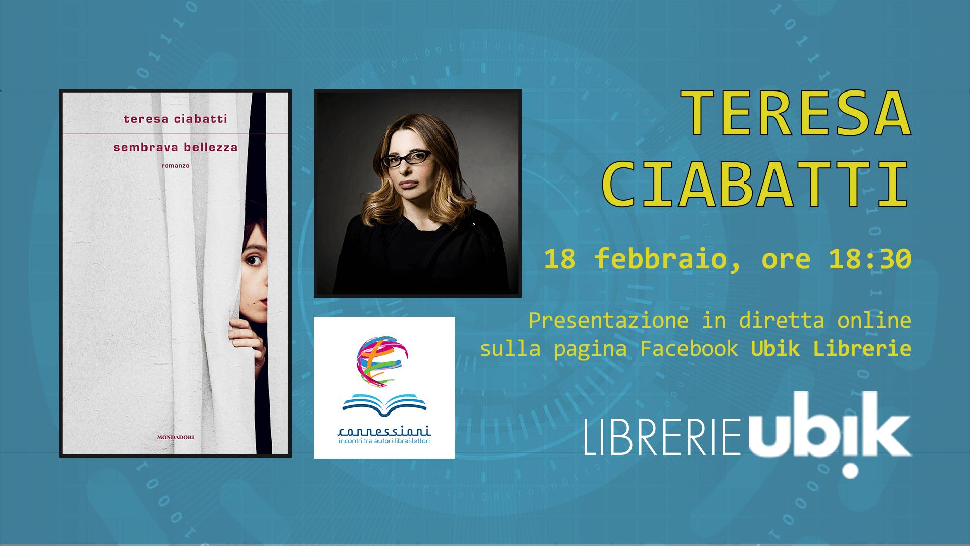 TERESA CIABATTI presenta in diretta online