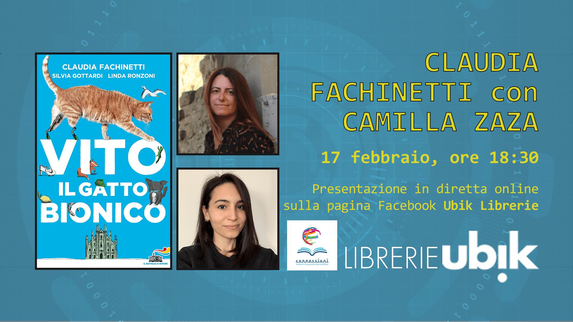 CLAUDIA FACHINETTI presenta in diretta online