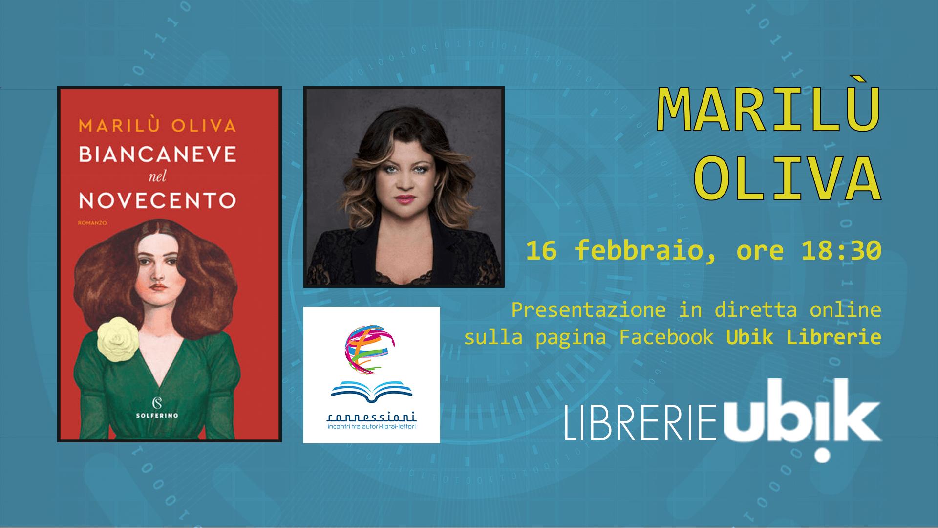 MARILÙ OLIVA presenta in diretta online