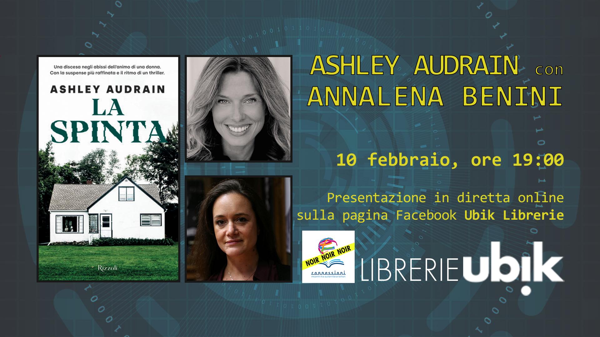 ASHLEY AUDRAIN con ANNALENA BENINI presenta