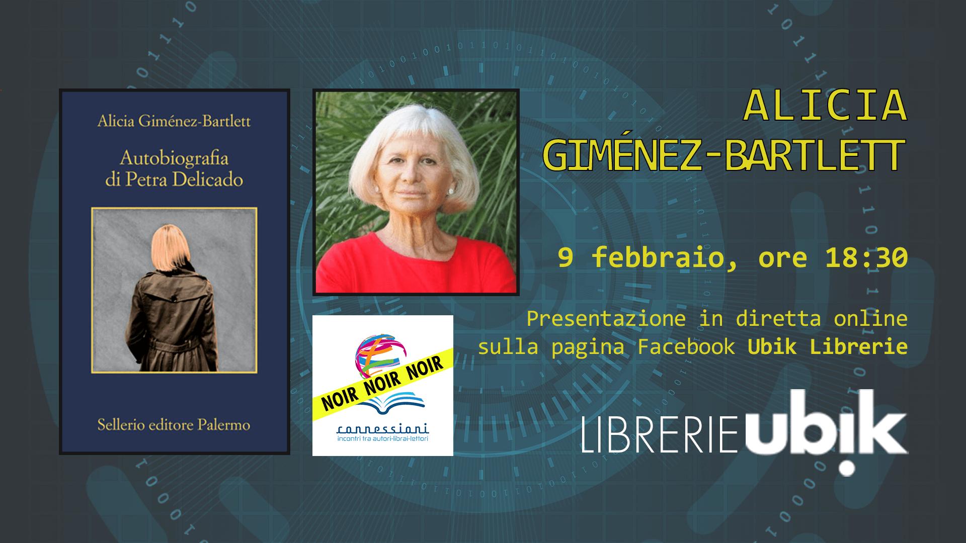 ALICIA GIMÉNEZ-BARTLETT presenta in diretta online