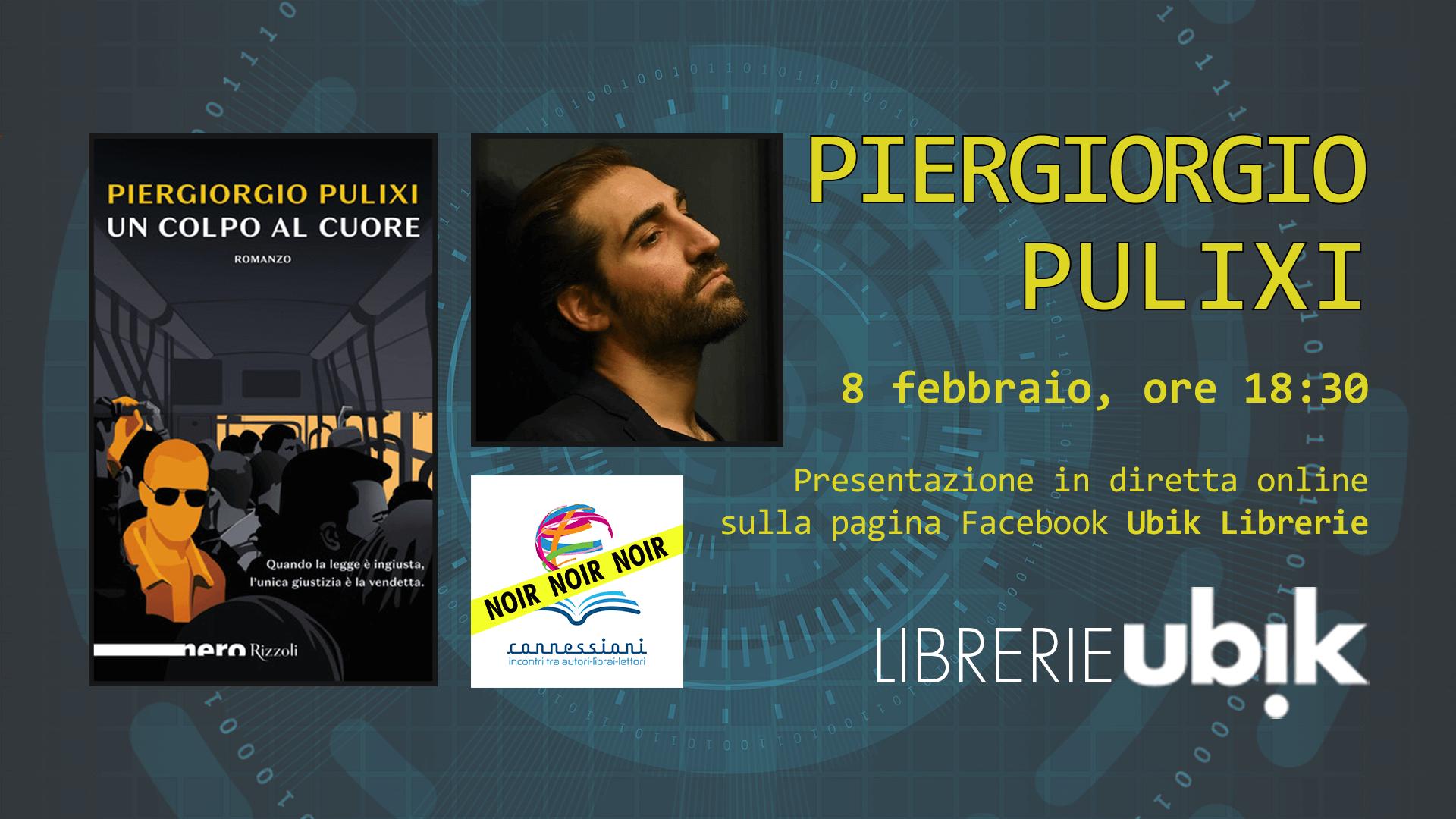 PIERGIORGIO PULIXI presenta in diretta online