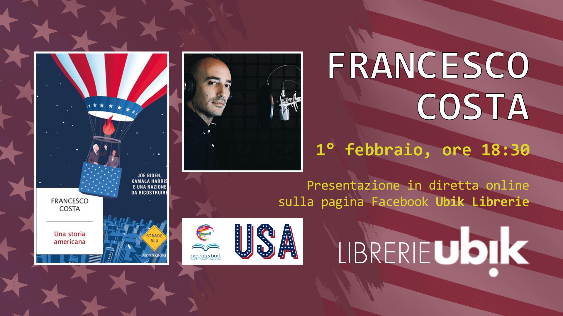 FRANCESCO COSTA presenta in diretta online