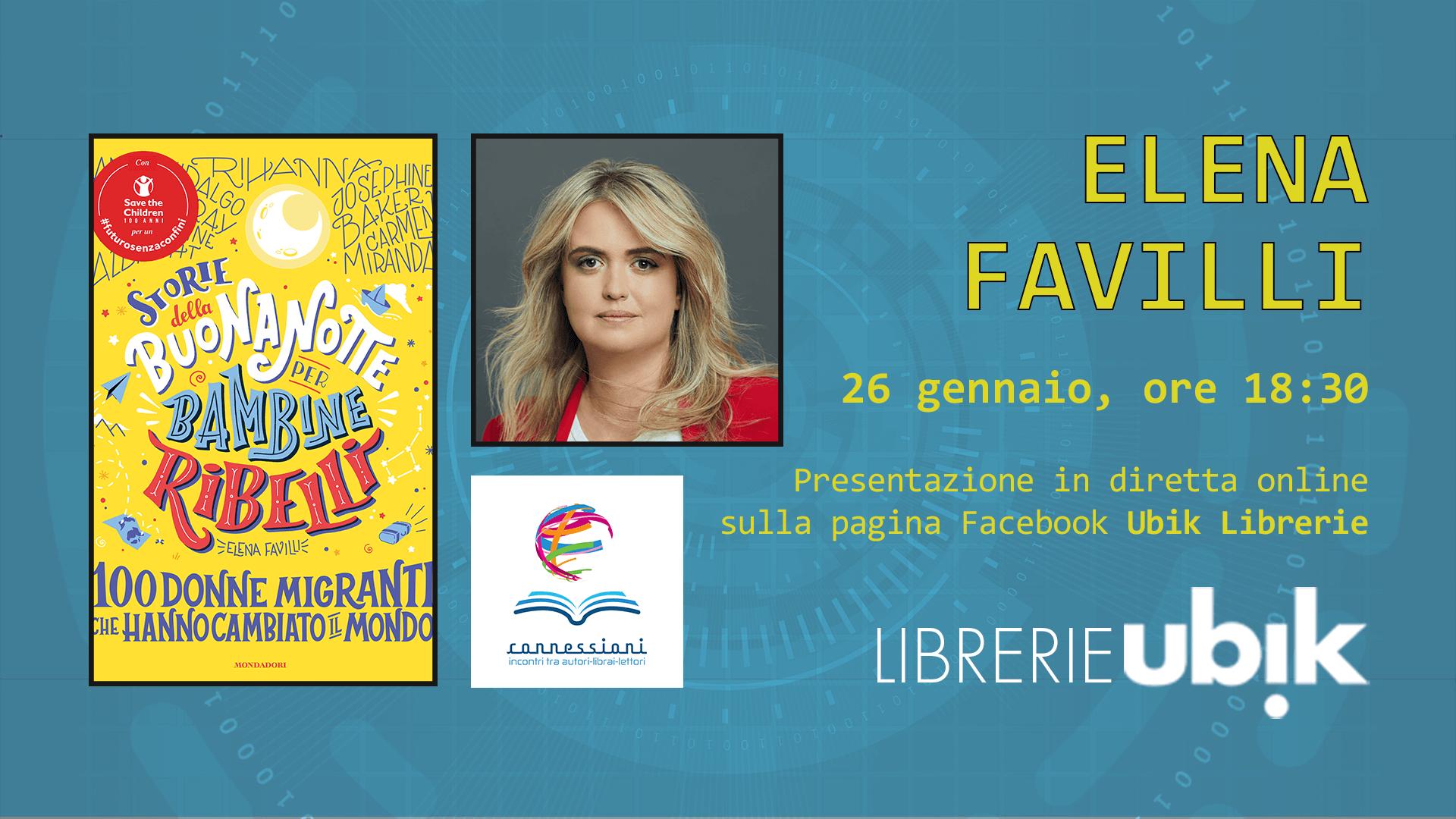 ELENA FAVILLI presenta in diretta online