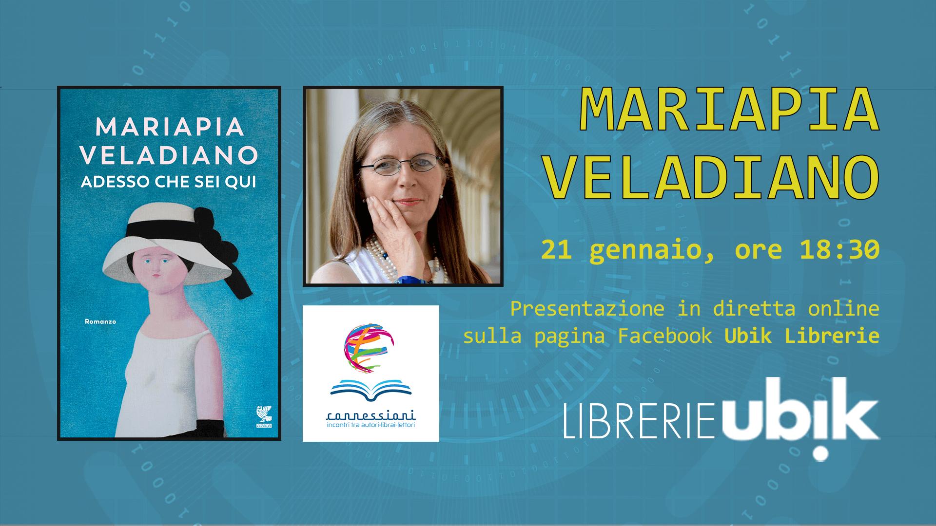 MARIAPIA VELADIANO presenta in diretta online