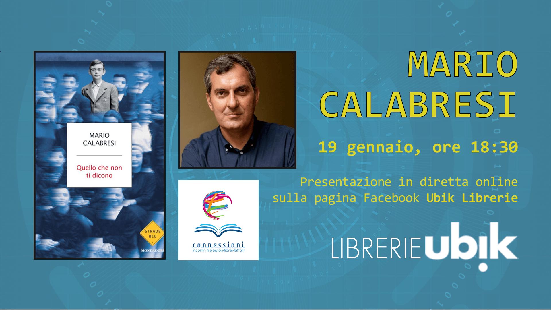 MARIO CALABRESI presenta in diretta online