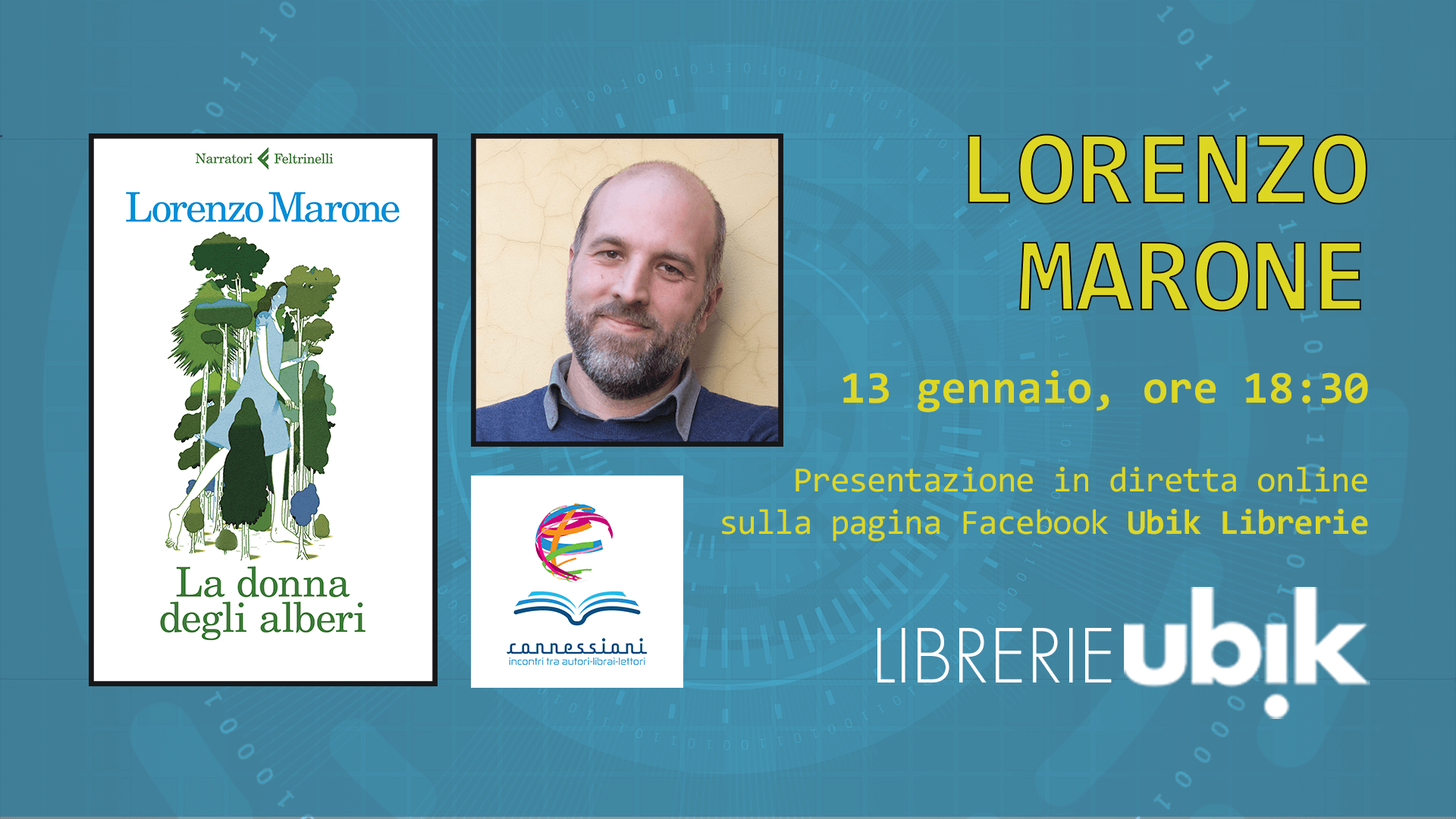 LORENZO MARONE presenta in diretta online