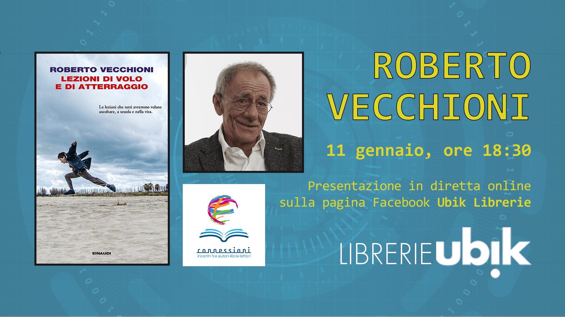 ROBERTO VECCHIONI presenta in diretta online