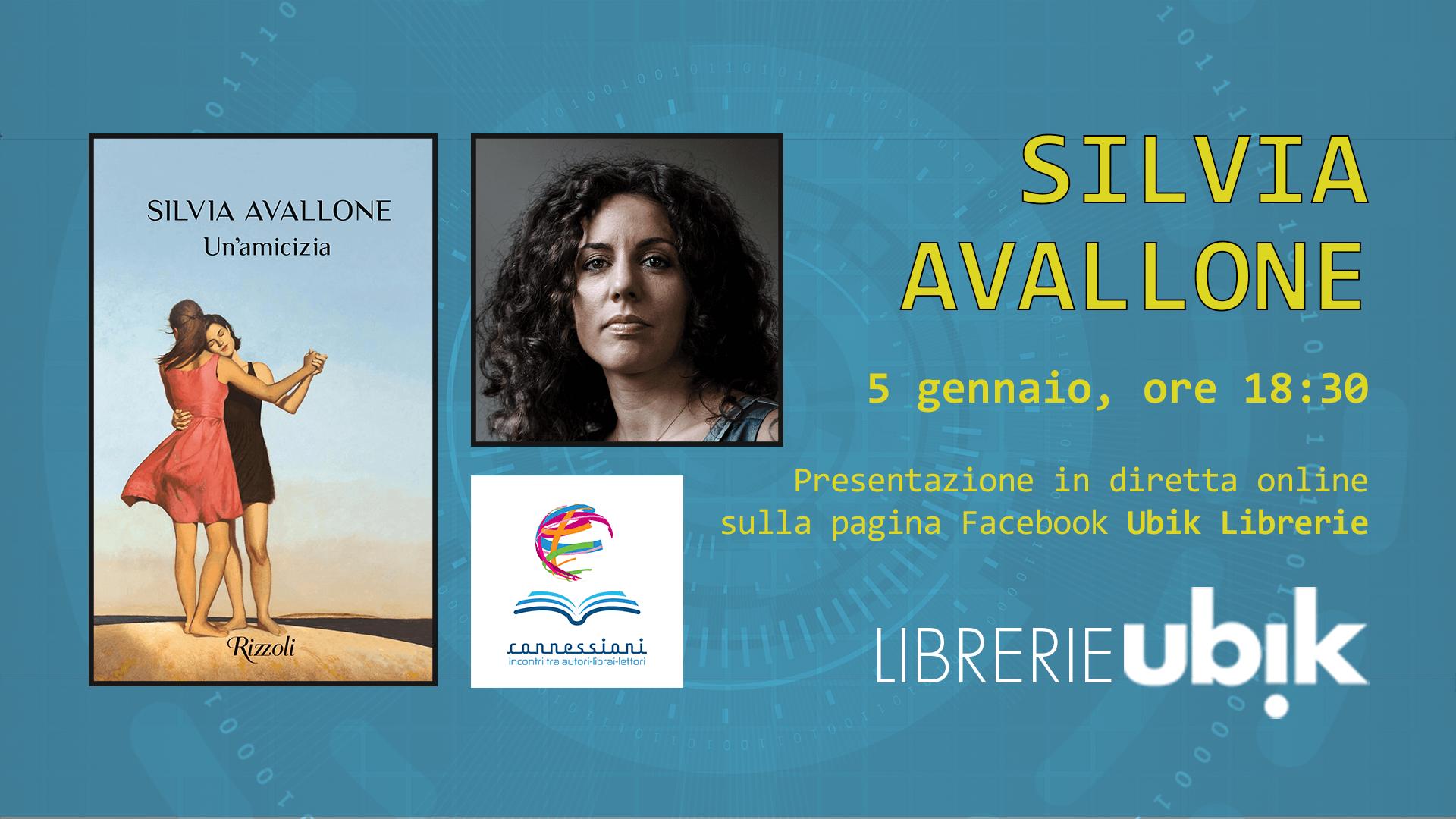 SILVIA AVALLONE presenta in diretta online