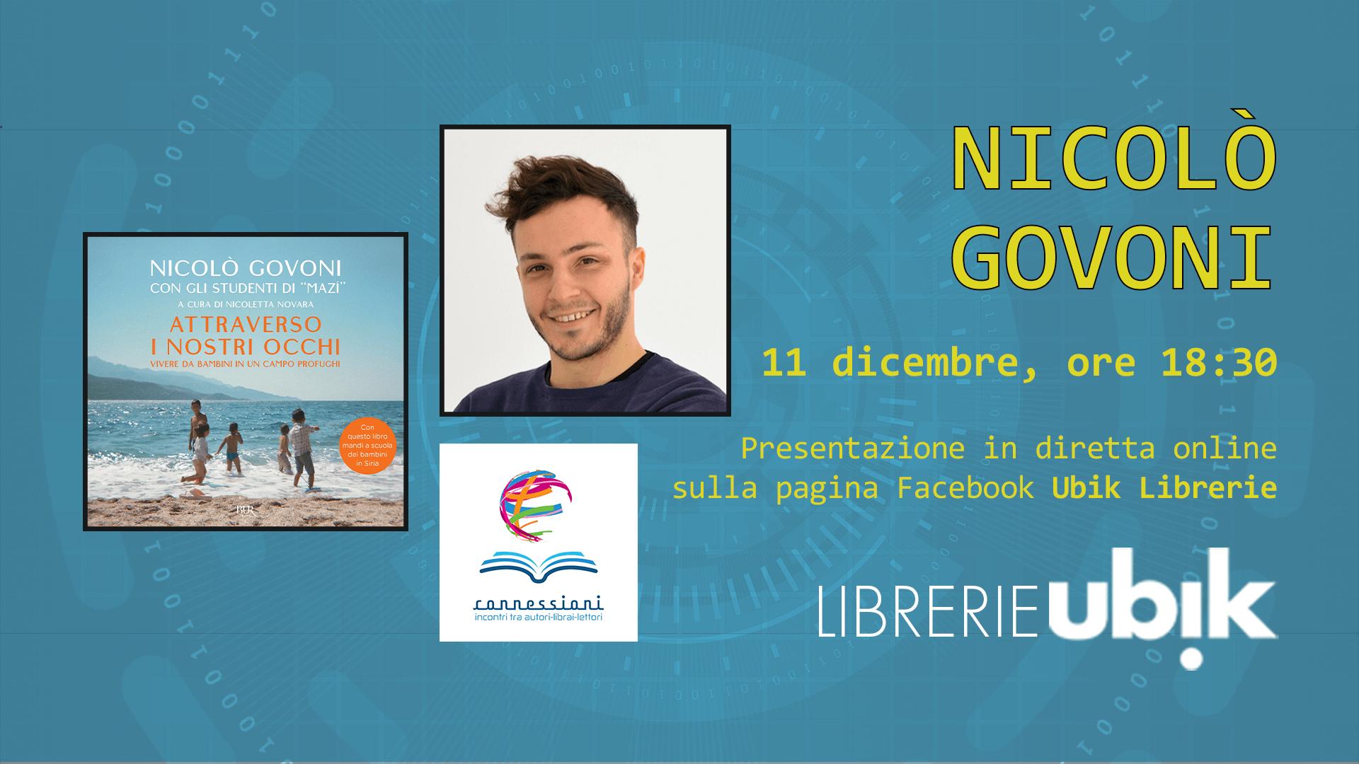 NICOLÒ GOVONI presenta in diretta online
