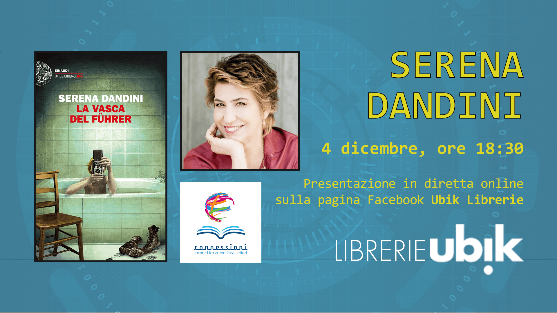 SERENA DANDINI presenta in diretta online