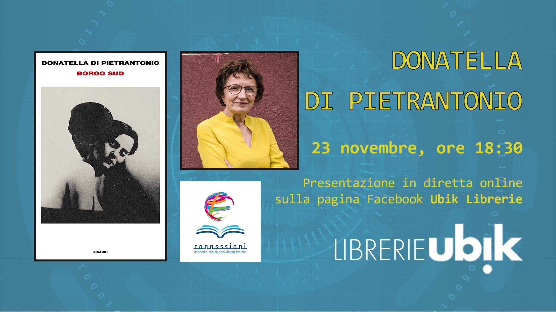 DONATELLA DI PIETRANTONIO presenta in diretta online