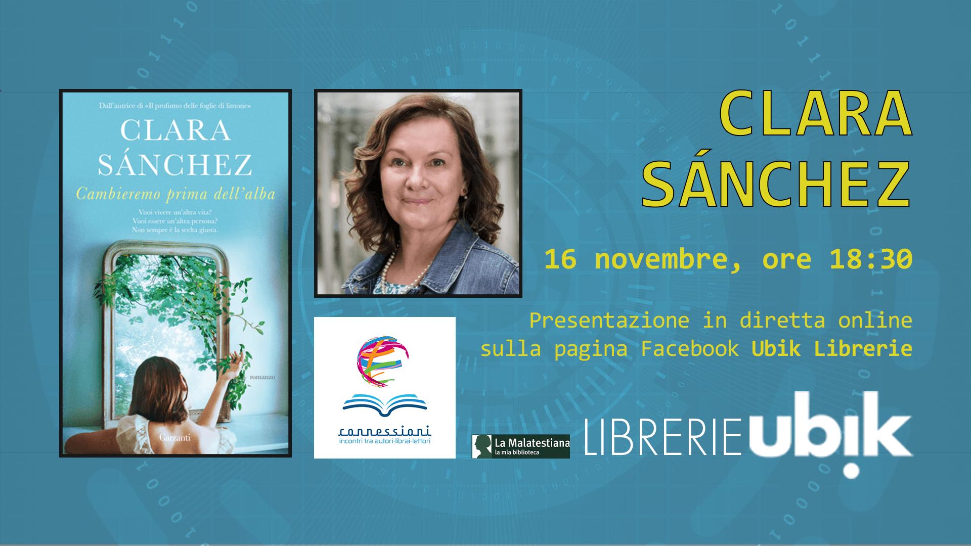 CLARA SANCHEZ presenta in diretta online