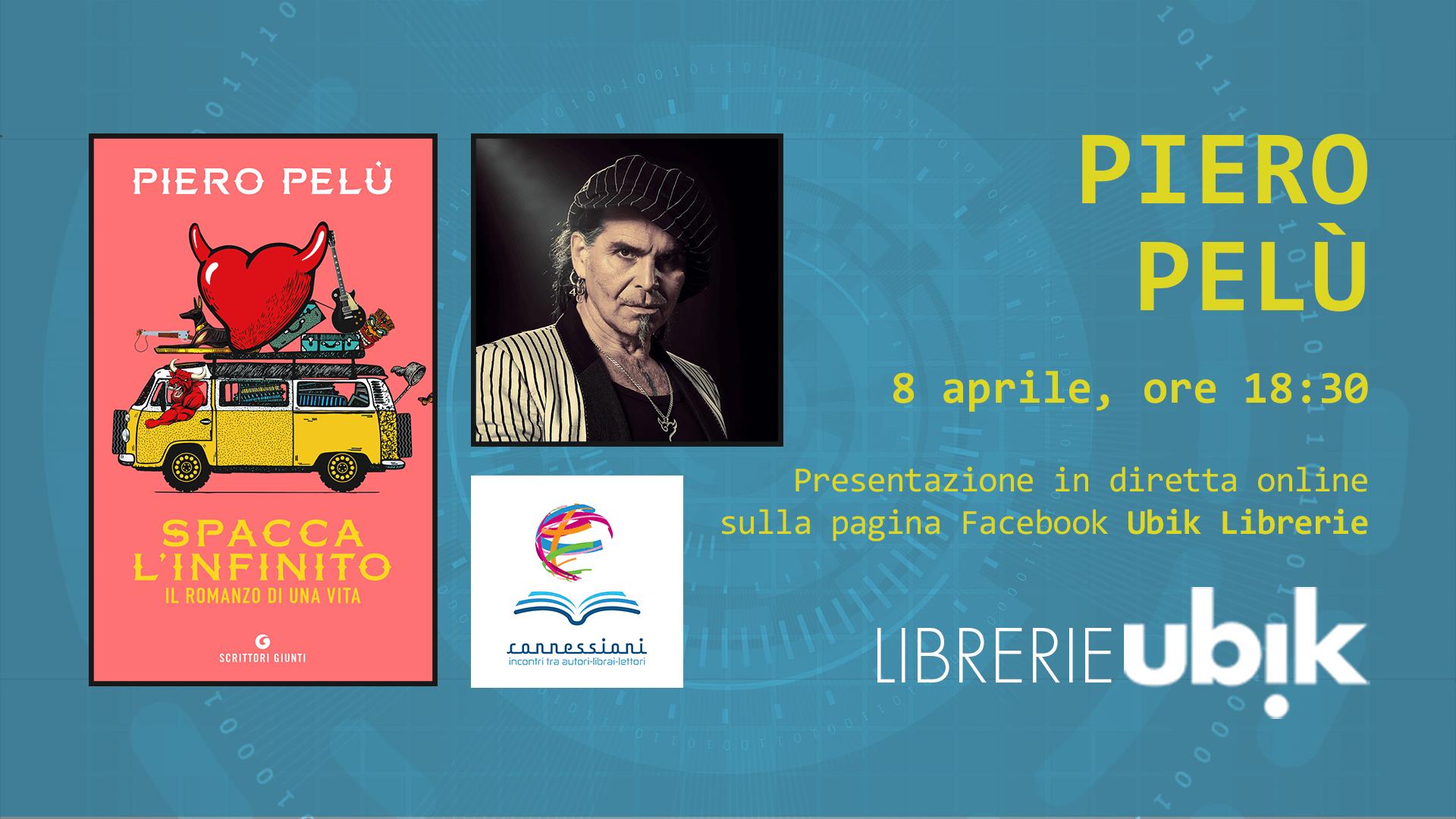 PIERO PELÙ presenta in diretta online