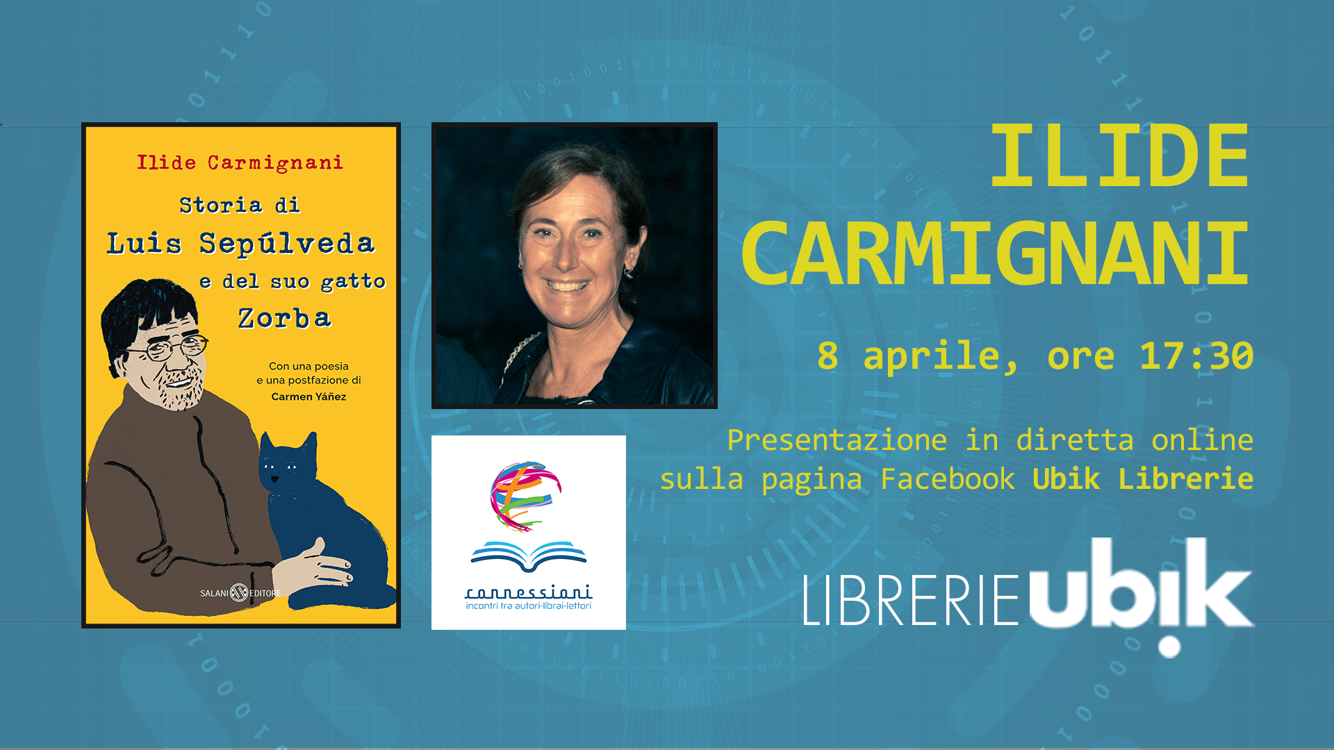 ILIDE CARMIGNANI presenta in diretta online
