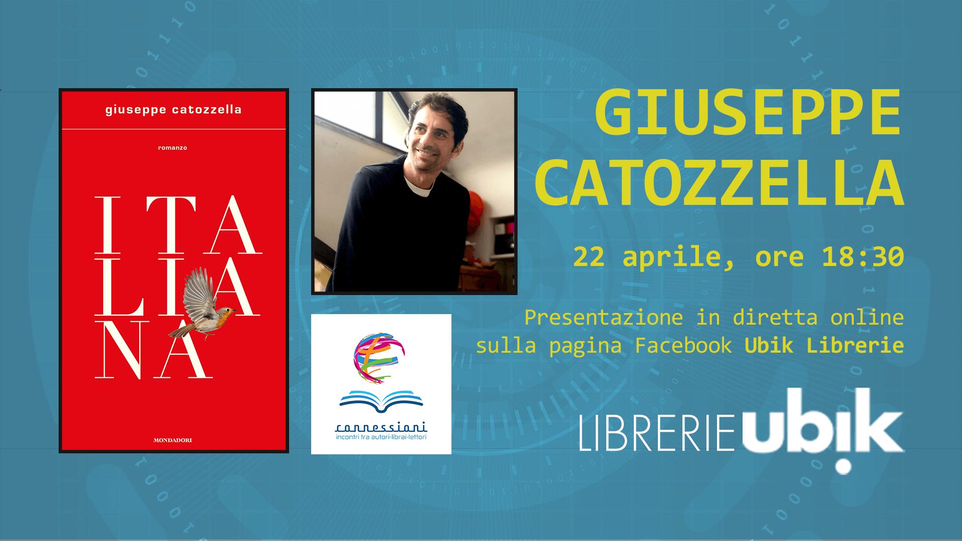 GIUSEPPE CATOZZELLA presenta in diretta online