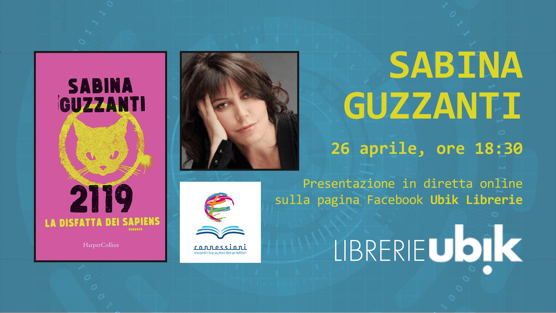 SABINA GUZZANTI presenta in diretta online