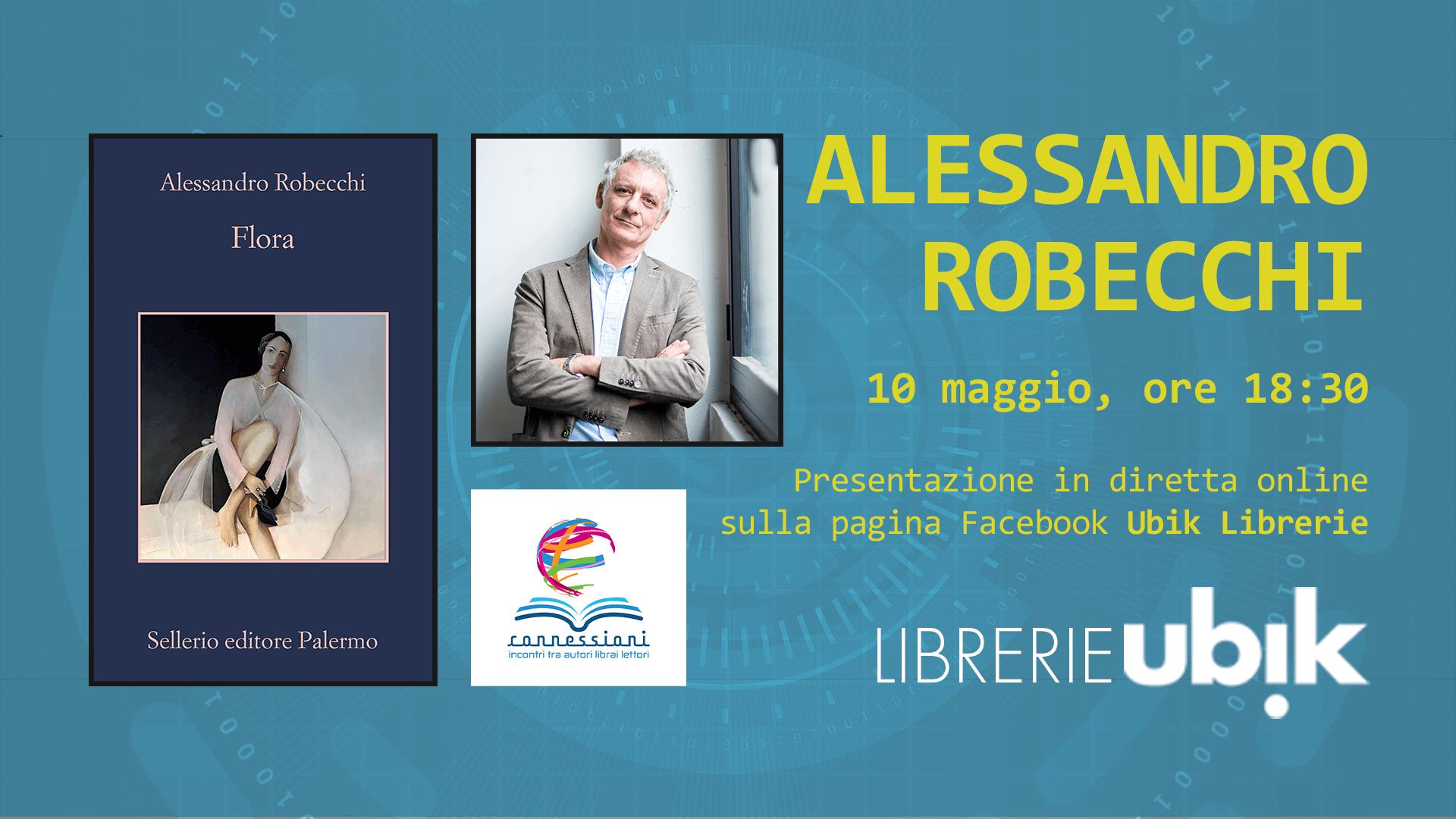 ALESSANDRO ROBECCHI presenta in diretat online