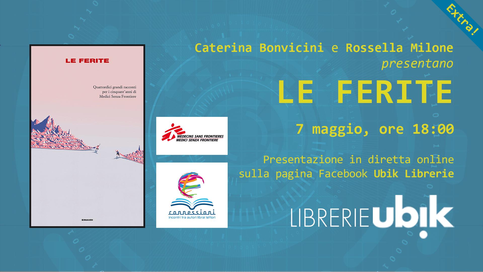 CATERINA BONVICINI e ROSSELLA MILONE presentano in diretta online